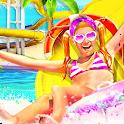 Water Slide Summer Splash - Water Park Dash icon
