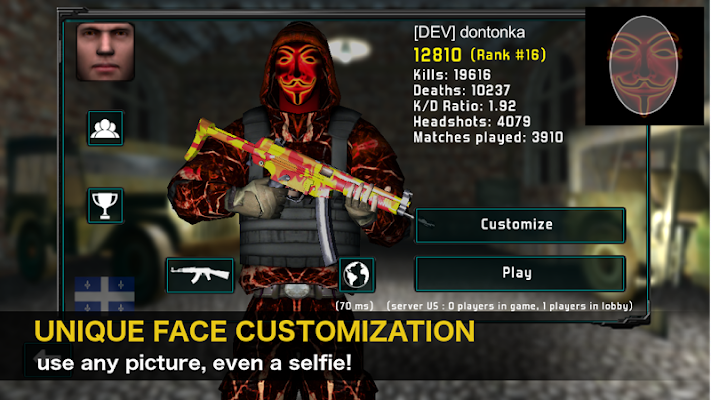 Natural Born Soldier: Epic Multiplayer FPS - screenshot