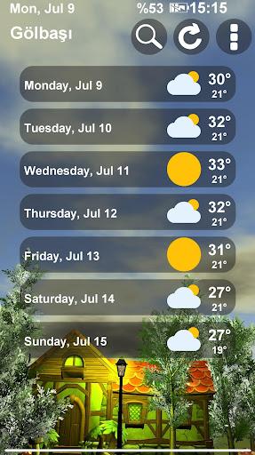 Animated 3D Weather 4.2.0 screenshots 7