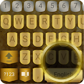 ai.keyboard Gold theme