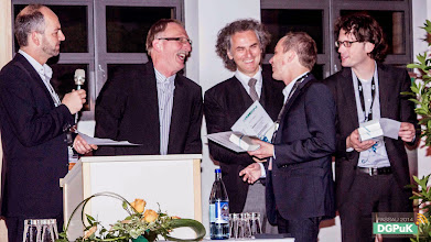 Photo: DGPuK 2014 Gala-Abend in der Innsteg-Aula  Preisverleihung: Zeitschriftenpreis: 1. Platz: Rinaldo Kühne   Foto: Janertainment Janine Amberger