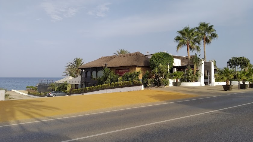 La discoteca Mandala Beach Mojácar, una de las afectadas.