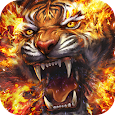 Flame Tiger Live Wallpaper apk