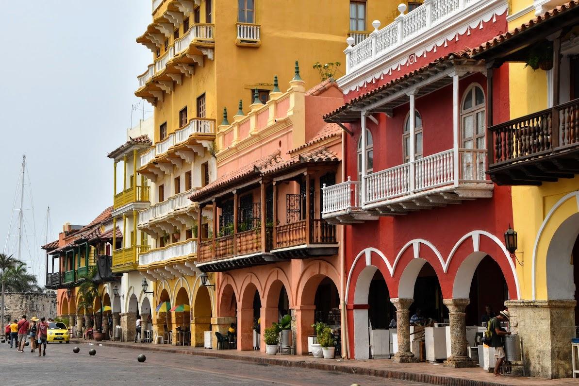 Arquitectura colonial en Cartagena