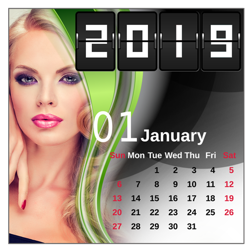 2019 Calendar Frames for Pictures Icon
