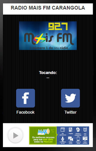 RADIO MAIS FM CARANGOLA