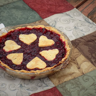 Gluten-Free Cranberry Raspberry Pie