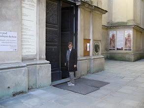 Photo: Wejście do kościoła Dominikanów