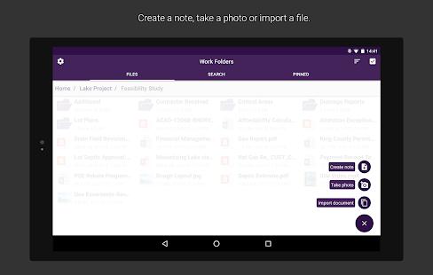 Work Folders Screenshot 15