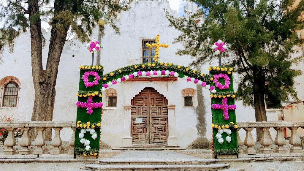 Sanctuary of Atotonilco closed due to COVID 19.