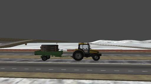 Traktör Sürme: Yük Taşıma 3D