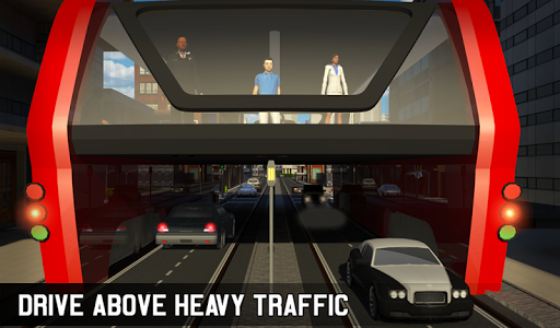 Elevated Bus Simulator: Futuristic City Bus Games 2.2 screenshots 16