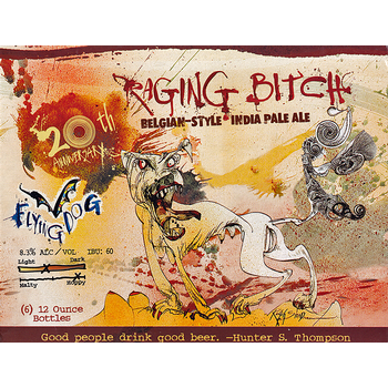Logo of Flying Dog Raging Bitch