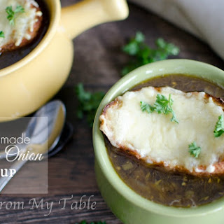 {Homemade} French Onion Soup
