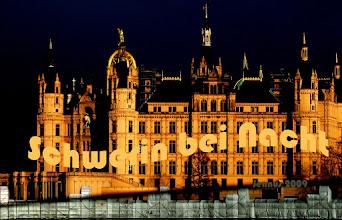 Photo: Nachts in Schwerin