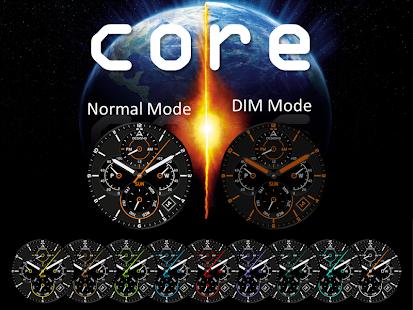 Core Watch Face screenshot