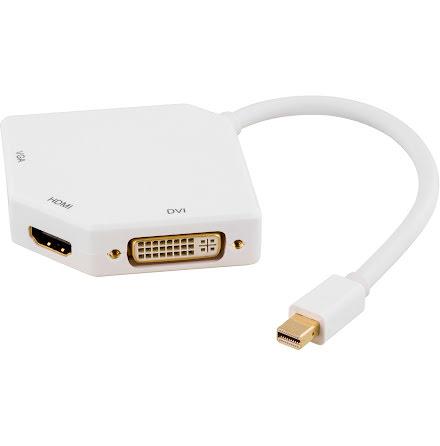 Mini DisplayPort - DVI/HDMI/VG