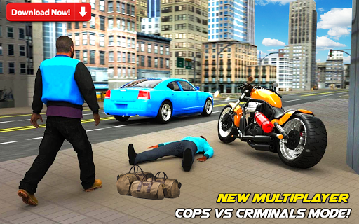 Police Games Car Chase-Free Shooting Games apkmr screenshots 2