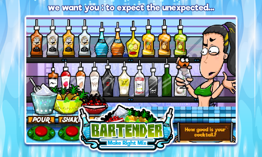 Bartender Perfect Mix  gameplay | by HackJr.Pw 7