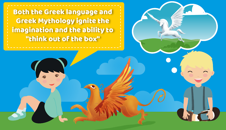 greek mythology for kids imagination