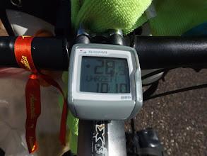 Photo: 10:10 Uhr: kräftiger Rückenwind bläst uns mit 28,5km/h vorwärts