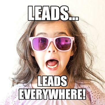 Leads Everywhere - Instagram Post template