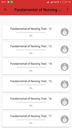 Nursing Exam NS.6.1 screenshots 3