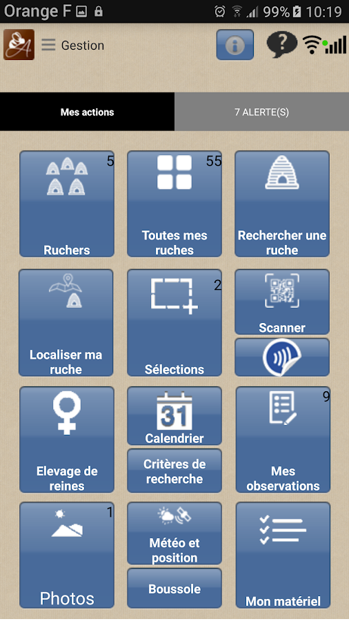 APIMIEL- screenshot