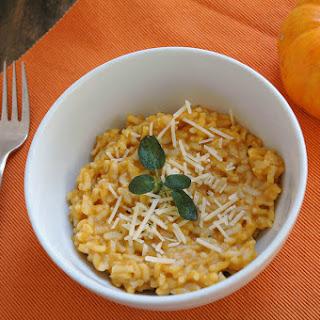 Instant Pot Pumpkin Risotto.