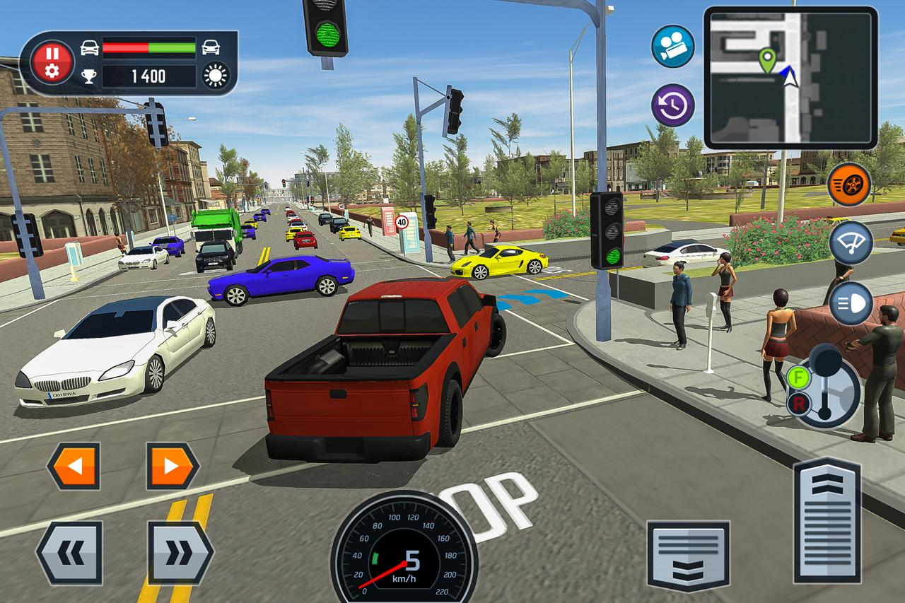 Easy Car Driving Games