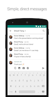 Hangouts Chat Screenshot
