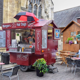 cafe by Betty Taylor - City,  Street & Park  Markets & Shops ( cafe, street scene, food, street photography,  )
