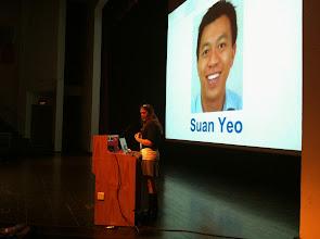 Photo: Wendy Kicks Off SG Summit