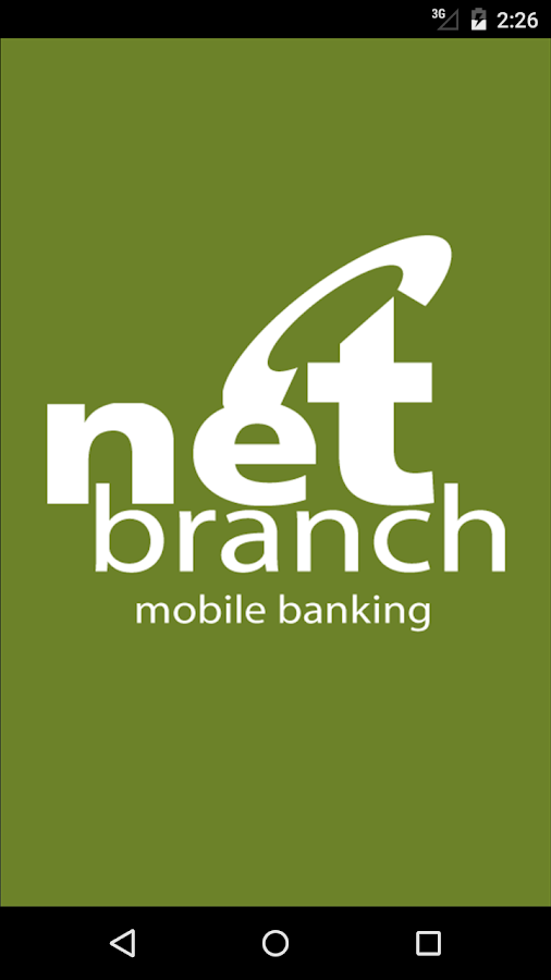 NetBranch Mobile App- screenshot