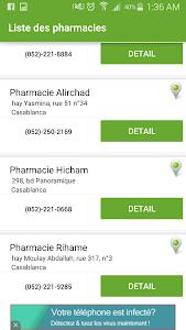 Pharmacie de Garde Maroc screenshot 6