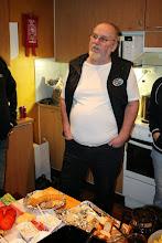 Photo: Markku kertoili tulevaisuuden näkymiä uudenvuodenpuheessaan.