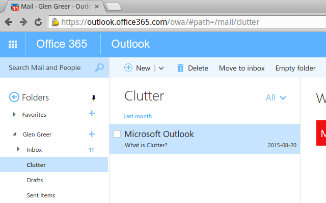 how to connect oulook 365 to outlook