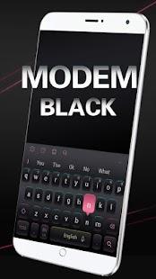Modem Black Keyboard - náhled