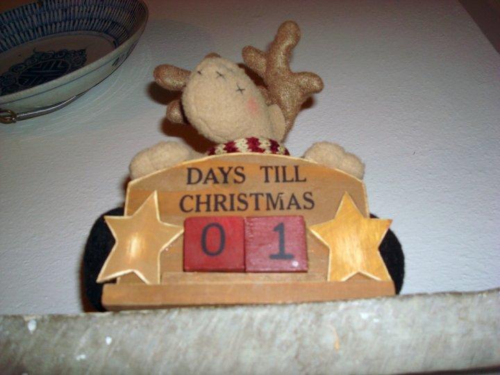 One day till christmas di tom_car
