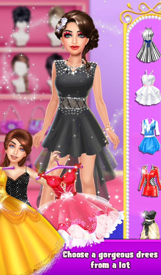 Ugly To Pretty Fashion Girl Makeup Dressup- screenshot