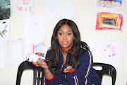 Media personality Minnie Dlamini is doing her part to feed the vulnerable during lockdown.