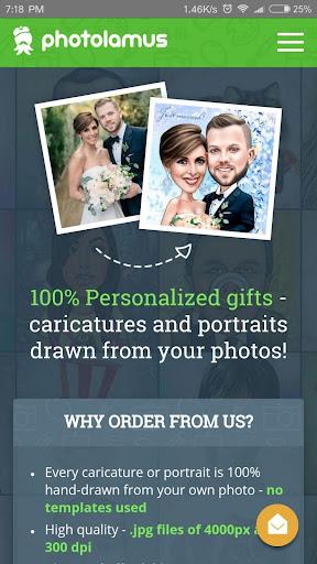 Caricatures,portraits,cartoons 2.3.5 screenshots 1