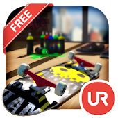 UR 3D Skateboard City Theme
