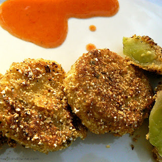 Tangy Fried Green Tomatoes.