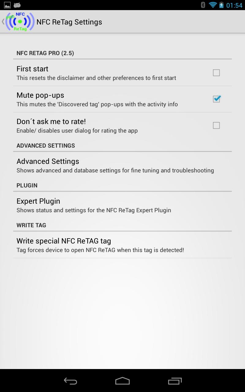 NFC ReTag PRO Screenshot 19
