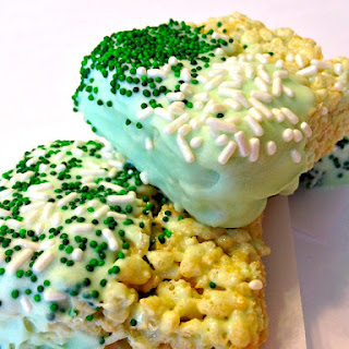 St. Patrick's Day Rice Krispies Treats