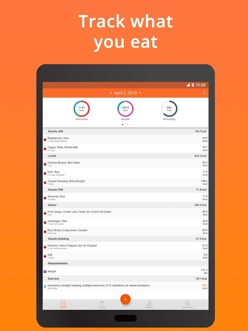 Cronometer – Nutrition Tracker (ad free) Screenshot 8