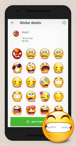 WAStickerApps Hug Emoji App Report on Mobile Action - App Store