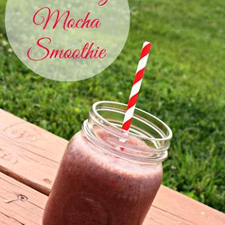 Strawberry Mocha Smoothie.