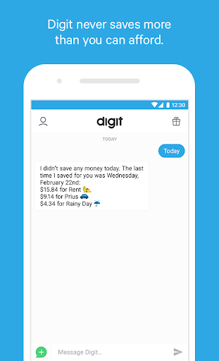 Digit Save Money Automatically Screenshot